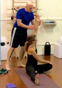 Learn yoga 1-1 basics with Chris Livanos