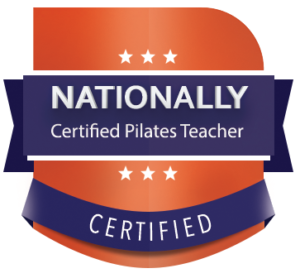 Badge: Nationally Certified Pilates Teacher