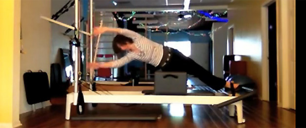 Demo of some things you can do on the Reformer short box (dancerly Jules)